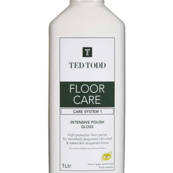 Floor care care system 1 intensive polish gloss