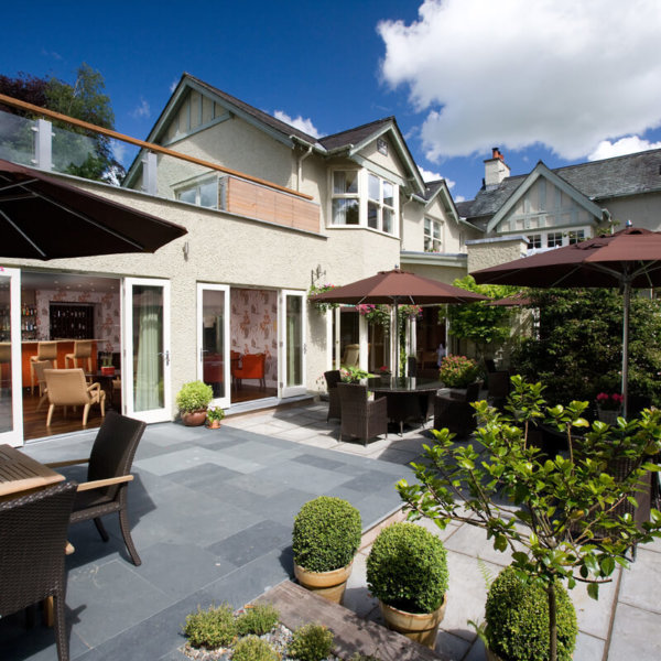 Lonsdale Grey Slate paving