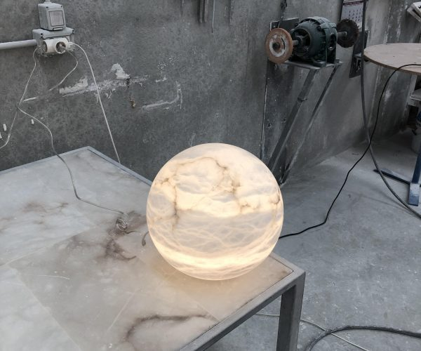 Alabaster stone lighting