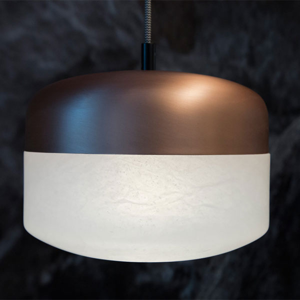 Copper Alabaster lighting