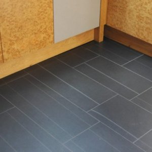 Brathay Blue/Black Slate Tiles