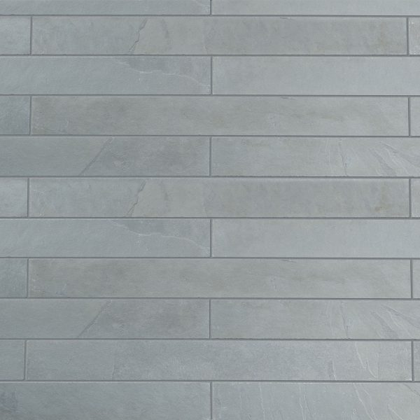 Lonsdale grey cleft strip cladding