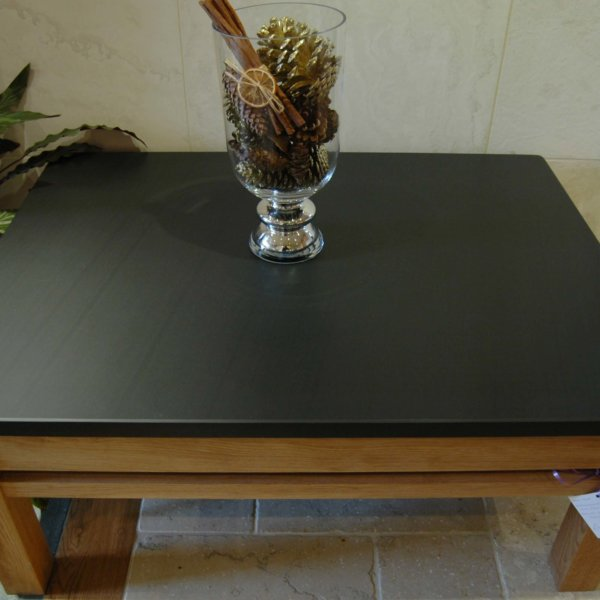 Slate and Oak Table