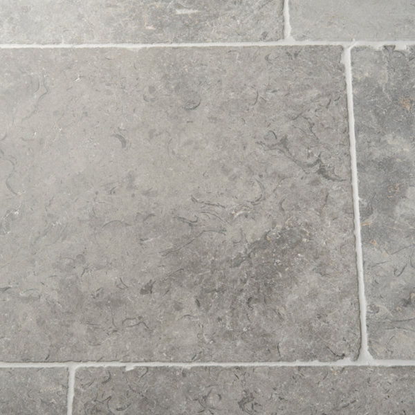 Macon Grey Tumbled Limestone